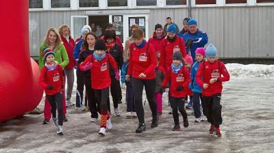 Foto zur Meldung: 6.OSPA-Stadtlauf beschließt das Laufsportjahr in Laage