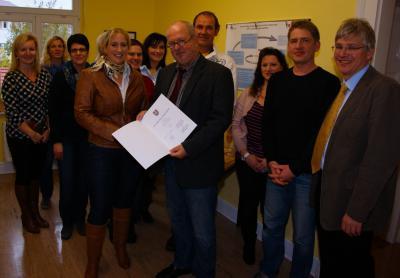 Foto zur Meldung: Ernennung von Karin Schremser zur Rektorin