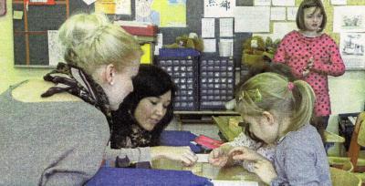 Foto zur Meldung: Zu Besuch in der Grundschule Röslau