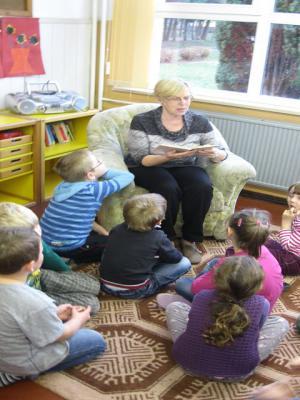 Foto zu Meldung: Bundesweiter Vorlesetag auch an unserer Schule