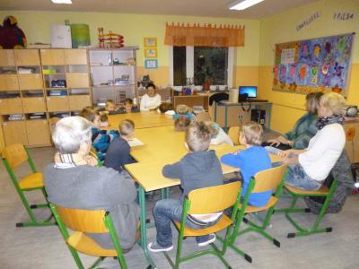 Foto zur Meldung: Der 10. Bundesweite Vorlesetag in der GOS Schenkenland