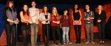 """Foto zur Meldung: Stürmischer Applaus für eine Welturaufführung - Artikel """"Volksstimme"""" vom 19.11.13"""