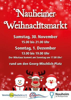 Foto zur Meldung: Weihnachtsmarkt in Nauheim 2013