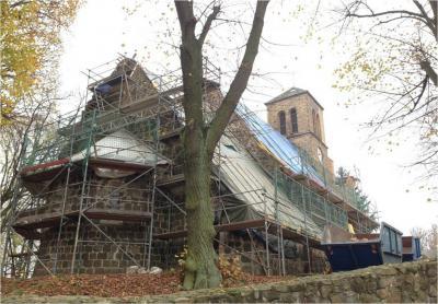 Foto zur Meldung: Projekte: Sanierung in Wegendorf schreitet voran