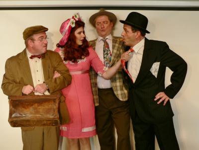 Foto zur Meldung: Casting für Olsenbande im Holzhaustheater - Karten ab sofort in den Verkaufsstellen