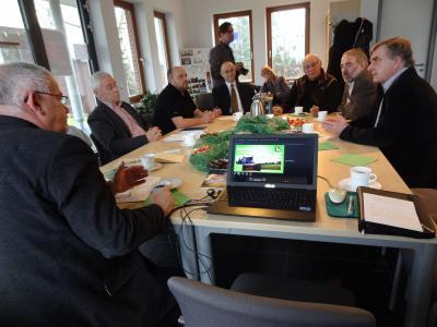 Foto zu Meldung: Minister Christoffers in Rehfelde