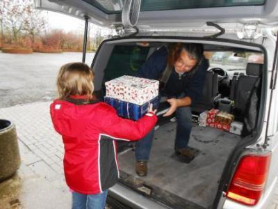 Foto zu Meldung: Weihnachten im Schuhkarton