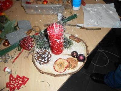 Foto zu Meldung: Adventsgestecke