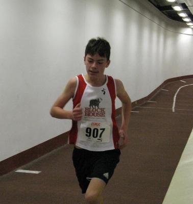 Foto zur Meldung: Landesmeisterschaften Langstrecke Halle 2.000/3.000 Meter