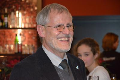 Foto zur Meldung: Michael Vetter feierlich in den Ruhestand verabschiedet