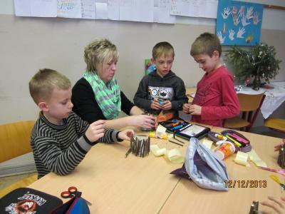 Foto zur Meldung: Weihnachtsprojekt der 2. Klassenstufe