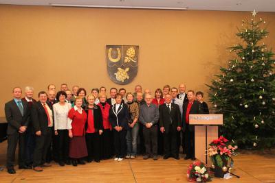 Bild der Meldung: Ehrenamt ist Ehrensache - Verdienstvolle Bürgerinnen und Bürger geehrt