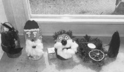 Foto zur Meldung: Weihnachtsbasteln in Biebelried