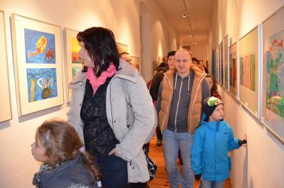 Foto zur Meldung: Ergebnisse der Kinder- und Jugendkunstgalerie ab sofort zu bewundern