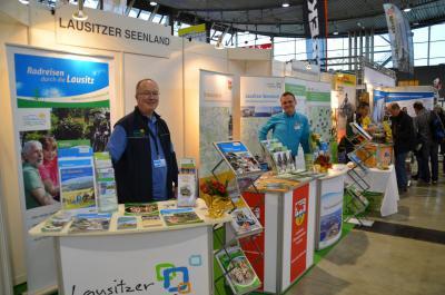 Foto zur Meldung: Lausitzer Radangebote waren in Stuttgart gefragt