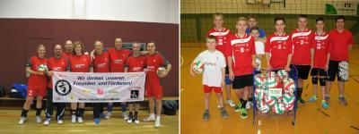 Foto zur Meldung: Paukenschlag der Laager Volleyballer zum Jahresauftakt