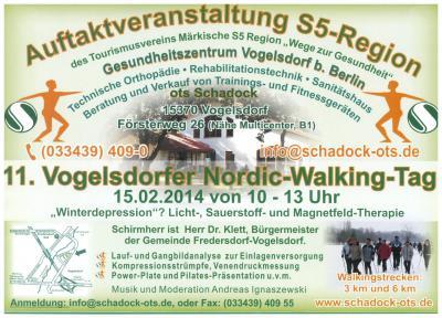 Bild der Meldung: 11. Vogelsdorfer Nordic-Walking-Tag