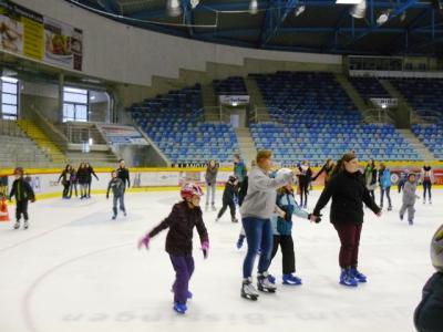 Foto zur Meldung: Eislauftag der Georg-Hager-Schule