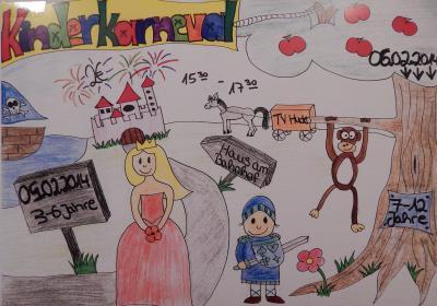 Foto zu Meldung: 05./06.02.2014: Kinderfasching im TV Hude - Aktuelle Bilder
