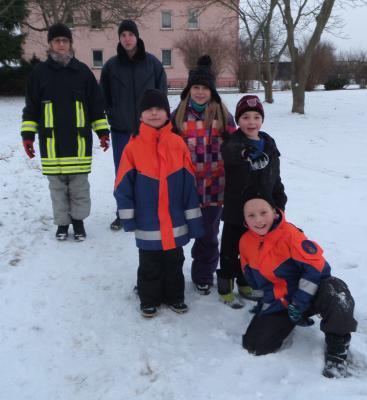 """Foto zu Meldung: """"Manöver Schneeflocke"""" der JFw Schulzendorf"""