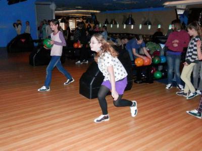 Foto zu Meldung: Bowling der Klassen 5 und 6