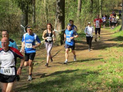 Foto zur Meldung: 12.EURAWASSER Waldlauf in Laage