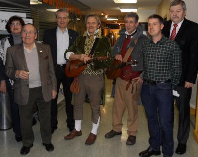 """Foto zu Meldung: """"Die Spessarträuber"""" – Ausstellung im Wächtersbacher Rathaus  Geschichten und Wahrheiten bei """"Art im Amt"""" bis zum 23. März"""