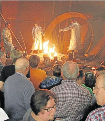 Foto zur Meldung: Ankunft der Glocken für die Rundkirche steht bevor