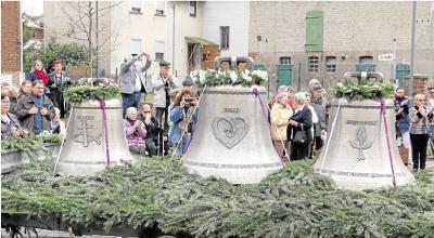 Foto zur Meldung: Glocken mit Zeremonie begrüßt