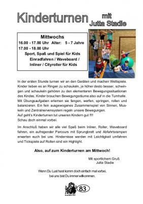 Vorschaubild zur Meldung: TSV Selk Sportangebot: Kinderturnen 5-7 Jahre