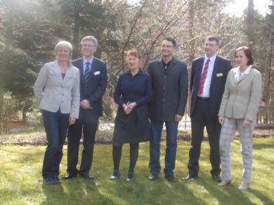 Foto zur Meldung: Besuch der Landesbeauftragten Jutta Schiecke in Bispingen