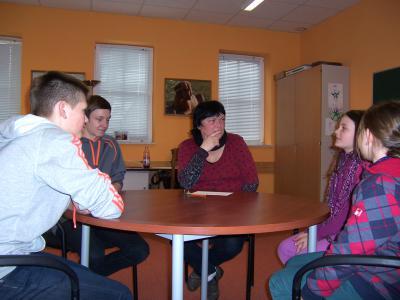 Foto zur Meldung: Konfliktlotsen lösen Schülerstreit