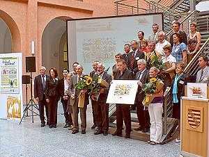 """Vorschaubild zur Meldung: 2. Preis der 6. City-Offensive Sachsen """"Ab in die Mitte"""" unter dem Motto """"Integration Stadt – statt Barrieren"""""""