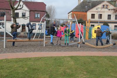 Foto zur Meldung: Unser Schulhof ist fertig!