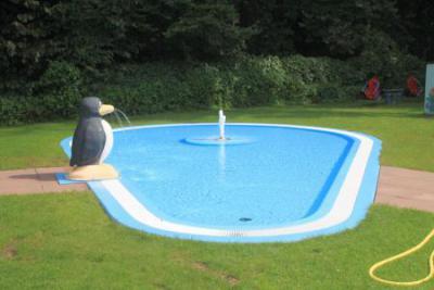 Foto zur Meldung: Spendenaufruf für das Kinderkleinschwimmbecken am Hegbachsee