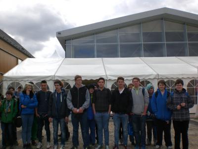 Foto zur Meldung: FSR besucht Ausbildungsmesse