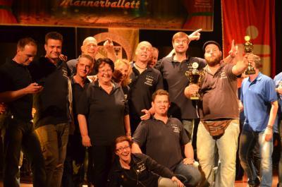 Foto zur Meldung: Das beste Männerballett Sachsen-Anhalts kommt wieder aus Leuna