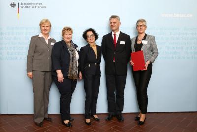 """Foto zur Meldung: ASB Kreisverband Senftenberg e.V. ist """"Unternehmen mit Weitblick 2014"""""""