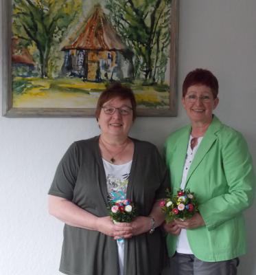 Foto zur Meldung: 40-jährige Dienstjubiläen bei der Gemeinde Bispingen