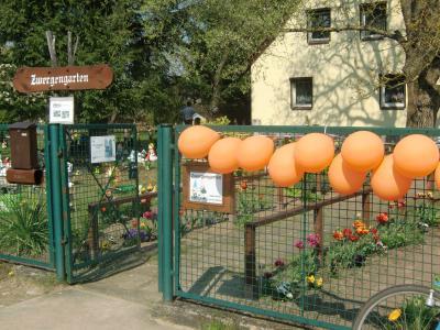 Foto zur Meldung: Eröffnung und Jubiläum 10 Jahre Zwergengarten