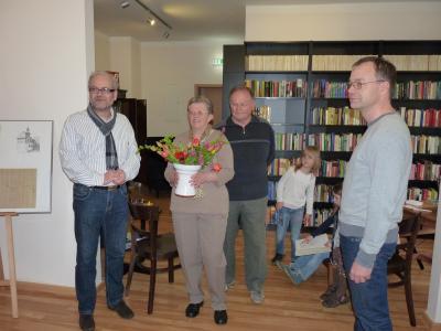 Foto zur Meldung: Aus den Projekten: Bibliothek in Reichenwalde eröffnet