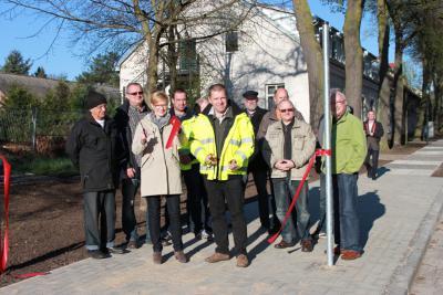 Bild der Meldung: Gehwege in der Alten Berliner Straße und in der Dorfstraße wurden am 16. April freigegeben
