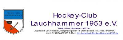 Foto zur Meldung: Hockey-Club Lauchhammer 1953 e.V. Investition in die Zukunft des Vereines