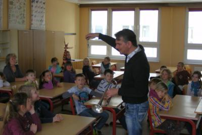 Foto zu Meldung: Direkter Draht zu Lübzer Grundschülern