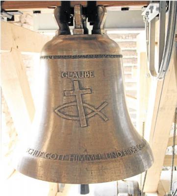 Foto zur Meldung: Neue Glocken läuten andere Klang-Ära ein