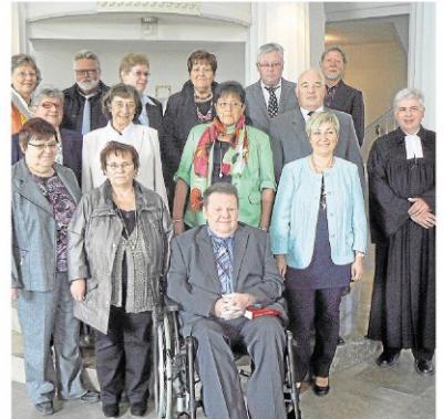 Foto zur Meldung: Begegnung in der Rundkirche