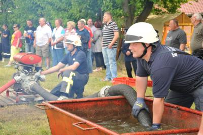 Foto zur Meldung: Schulzendorfer Feuerwehr lädt ein zum 16. Pokalwettkampf