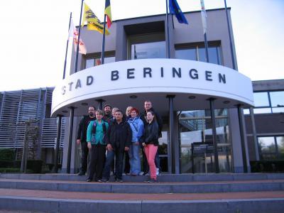 Foto zur Meldung: Pflegeinformationen aus Belgien mitgebracht