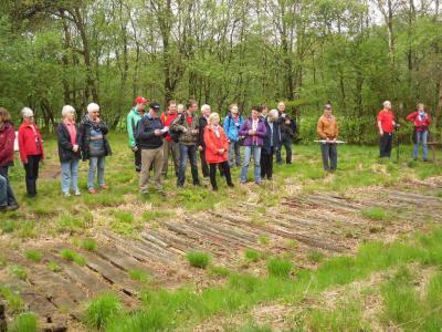 Vorschaubild zur Meldung: AGIL Wandertag: 70 Teilnehmer erleben trotz nächtlicher Gewitter einen runden Wandertag