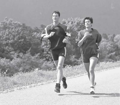 Foto zur Meldung: Sport- oder Trainingspartner gesucht? - AOK-Sportpartner hilft
